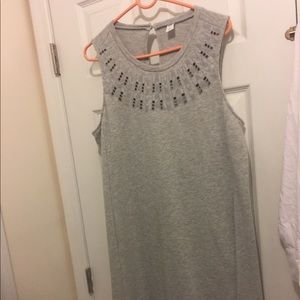 Old navy gray dress. Size large. Knee length